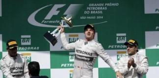 Гран-при Бразилии, Росберг выиграл гран-при Бразилии, Нико Росберг, Хэмилтон