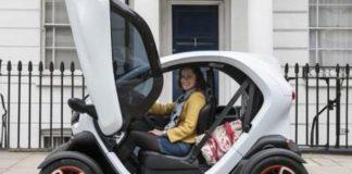 электромобили, электрокары, электромобили Renault, Renault Twizy, характеристики Renault Twizy, Renault Kangoo Z.E.
