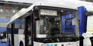 электрический автобус, электрический микроавтобус, выставка коммерческого транспорта, КамАЗ от розетки, зарядить КамАЗ, московская выставка коммерческого транспорта, Ford Telematics, KAMAZ-6282, электробус КамАЗ, Ford Transit